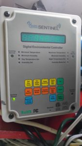 Sentinel DEC-4 - Digital Environmental Controller Maintains Humidity and Temperature