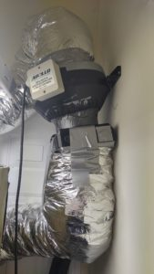 Duct Fan, Ice Box & Ducts